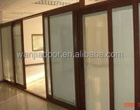 balcony sliding glass partition wall door in alibaba china