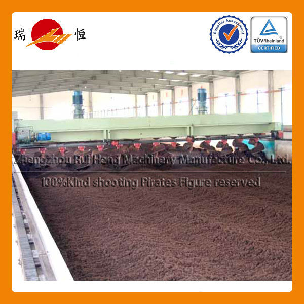 Ruiheng Best Selling Windrow Mobile Compost Turner Machine Compost Machine With Best Price