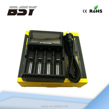 Best price and high quality universal charger Nitecore D4 max power battery charger