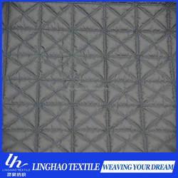 2015 High quality china factory quilting cotton fabric/50D pongee quilting fabric