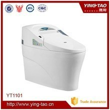 Professional design smart toilet with lady wash function wc ceramic custom toilets