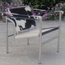 cow hide Le Corbusier LC1 Sling chair designer chair