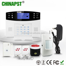 China gsm home alarm wireless wholesalers with Quick alarm on the panel PST-GA997CQ