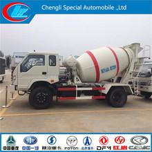 Foton Forland 4*2 4cbm 5cbm 6cbm mini concrete mixer truck blender mixer