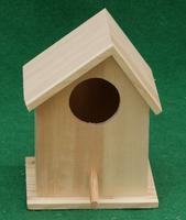 small cheap decorative handmade wood christmas bird houses