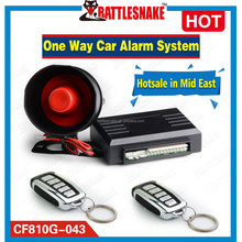 Using SMT craft, less than 1% defective rate one way car alarm system CF810G