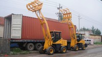 LY brand china front wheel loader for sale