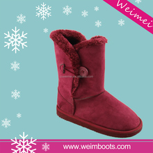 New design fashion low price snow boots factory snow boots sheepskin