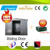 sliding door mini modular garden prefab house with solid structure
