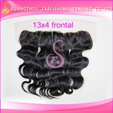 Different length human hair high quality lace and silk base closure cheap body wave brazilian remy human hair weft