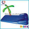 Inflatable Lounge Chair With Coconut Tree,Inflatable Floating Lounge Chair,Inflatable Beach Air Mattress