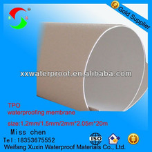 2mm best price best quality tpo thermoplastic roofs material