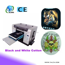 Cheap DIY 3D t-shirt clothes printer|t-shirt printer with white ink