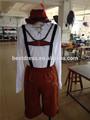 cerveza de baviera pantalones de cuero de hombre alemán oktoberfest de fantasía para adultos para hombre vestido de traje