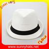 ladies girls trilby,jazz hat,straw fedora hat