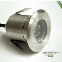 High quality 12v recessed light 1w led in ground underground led lights
