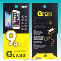 Ultra Thin Tempered Glass Screen Protector package box for iphone6 4.7/Plus 5.5 Retail package for Apple iphone 6 Free Shipping