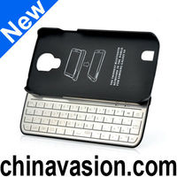 Bluetooth Keyboard Case For Galaxy S4 with Detachable, Ultra Slim Design