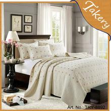 Polycotton Embroidery comforter sets bedding set 3pcs comforter set for Middle east