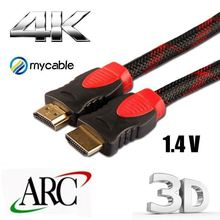 high speed HDMI to HDMI cable for PC laptop game console 3.5 inch tft lcd hdmi monitor