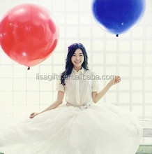 high quality 36 inch giant rubber balloons for Marriage decoration
