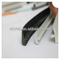 plastic rubber T molding edge trim for table countertop edge banding trim
