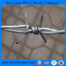 Alibaba express weight of barbed wire length per roll