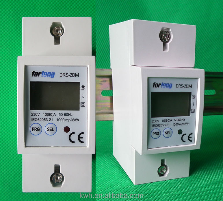 Single Phase Rs485 Digital Electric Energy Meter Wifi