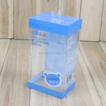 customized Hot selling pvc package box/custom pet pvc box plastic packing/clear pvc box