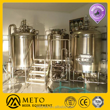 800L Ale Produce System , Beer Brewing Facility for micro brewery