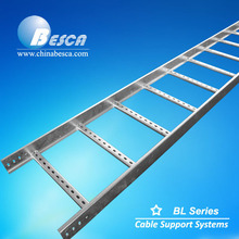 Galvanized Cable Ladder, ladder cable tray, Ladder Type Cable Tray Manufacturer