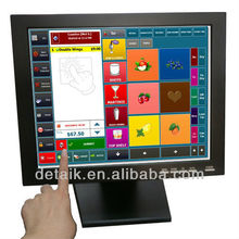 """brand new no impurity 15"""" TFT-LCD 4:3 touch screen pos monitor 1024*768 resolution"""