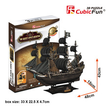 CubicFun 3d puzzle Queen Anne's Revenage toys r us