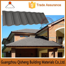 Modern house design roofing sheet colorful stone coated metal roof tile