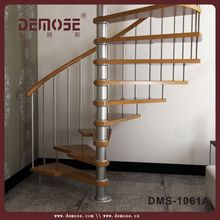 customized home space saving spiral stairs