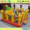 HOT SALE CE approved HNJOYTOYS inflatable bouncy castle for sale