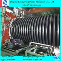 Ineer rib enhanced corrugated hdpe pipes machines