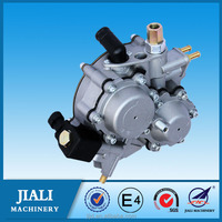 CNG gear reducer for open loop system