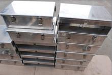 Aluminum material box, storage box, parcel box, welded aluminum case