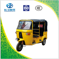 India Bajaj gasoline motor tricycle with competitive price