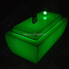 Interactive bar table system to make your table become led bar table, the pub bar counter