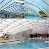 Baoding PC material multiwall transparent roofing sheet for construction