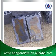 Chinese Factory Direct Sales Cheap Handmade Mushroom Rough Edge 20*10*1cm Rusty Decorative Slate Wall Cladding Panel Tile