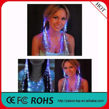 (Party Item) Blinking Hair Braid Led Hair Clips for Party Decoration LED Lighting Hairgrip Accessories for Hair