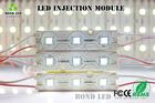 Decoração grátis frete SMD5050 um cordas DC12V Waterproof rgb módulo de 12v ip67 3 chips módulo de led com cor dife bulk buy fro