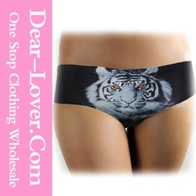 Sexy Tiger Animal Print Fashion Women Underwear 2015