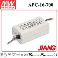 16W LED Driver 700mA 9~24V Output APC-16-700 Meanwell Single Output Switching Power Supply