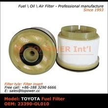 OEM 23390-OL010 fuel purifier diesel filter for Toyota