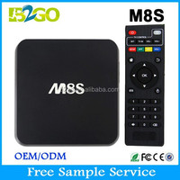 The NEWEST Box internet tv box indian channel M8S Amlogic S812 2G 8G 4K Android 4.4 Andriod Smart tv box
