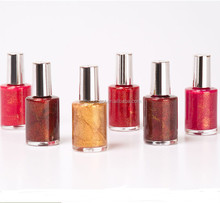 Fashion salon color nail polish